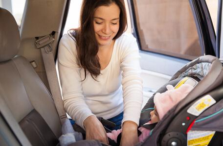 Reglas para la seguridad de los niños en el coche
