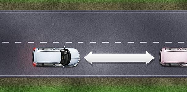Distancia prudente entre vehiculos