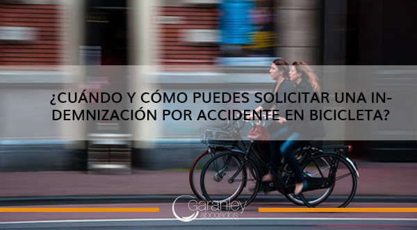 indemnización por accidente en bicicleta