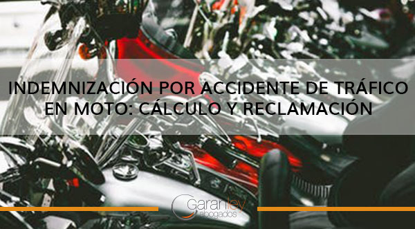 indemnización por accidente de tráfico en moto
