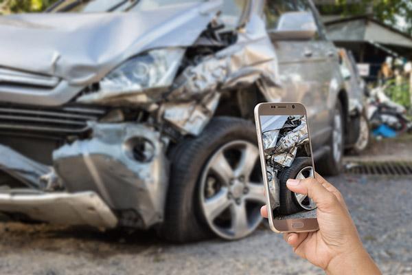registro de accidente de trafico